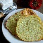 Pão Low Carb (3 ingredientes)